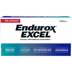 Endurox Excel Natural Training Supplement - 30-Day Supply (60 Caplets)