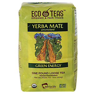 Yerba Mate Unsmoked Organic Loose Leaf Tea - Green Energy (16 Ounces)