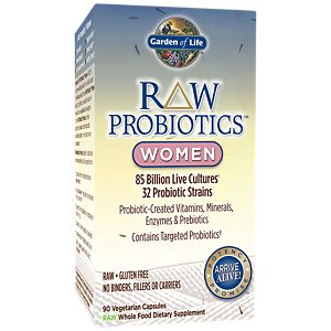 Raw Probiotics For Women Refrigerated 85 Billion (90 Vegetarian Capsules).  Garden Of Life