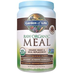 Raw Meal   Real Raw Chocolate Cacao (34.8 Ounces Powder) By Garden Of Life  At The Vitamin Shoppe