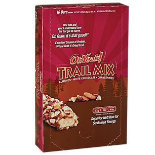 Oh Yeah Trail Mix Almond White Chocolate Cranberry