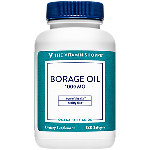 Borage Oil Natural Source of GLA 1,000 MG (180 Softgels)