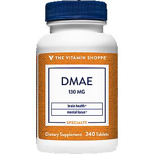 DMAE (Dimethylaminoethanol) 130 MG (240 Tablets)