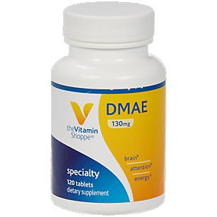 DMAE (Dimethylaminoethanol) 130 MG (120 Tablets)