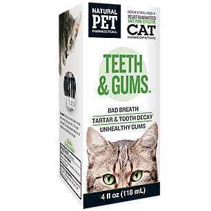 Natural Pet Teeth and Gums Homeopathy (Cat)
