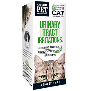 Urinary Tract Irritations Homeopathy (Cat)