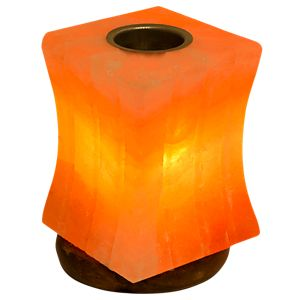 himalayan crystal salt lamp pillar 1 lamp evolution - Evolution Salt Lamp