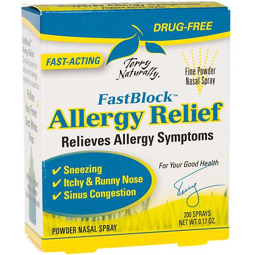Terry Naturally Europharma FastBlock Allergy Relief - 200 Sprays - 0.17 Fl Oz -  2077832