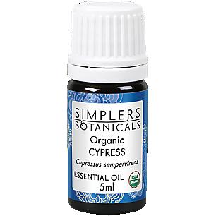 Cypress 100% Pure Organic Essential Oil (5 Milliliter Oil)