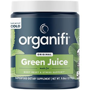 Organic Green Juice Superfood Powder with Coc.