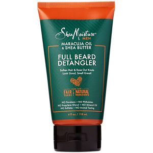 Full Beard Detangler - Maracuja Oil & Shea Butter (4 Fluid Ounces Liquid)