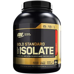 Gold Standard 100% Isolate - Strawberry Cream (2.91 Pound Powder)