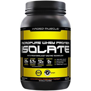 Micropure Whey Protein Isolate - Cinnamon Roll (3 Pound Powder)