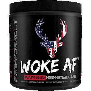 Woke AF Pre-Workout High Stimulant - Merica Rocket Pop (30 Servings)