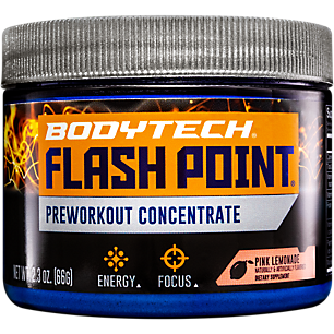 Flash Point Pre Workout Concentrate Pink Lemonade (2.3 oz. / 10 Servings)