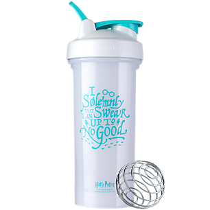 Pro28 Harry Potter Shaker Bottle Series with Wire Whisk BlenderBall I Solemnly Swear (28 Fl Oz.)