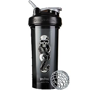Pro28 Harry Potter Shaker Bottle Series with Wire Whisk BlenderBall Dark Mark (28 Fl Oz.)