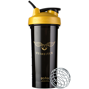 Pro28 Harry Potter Shaker Bottle Series with Wire Whisk BlenderBall Quidditch (28 Fl Oz.)