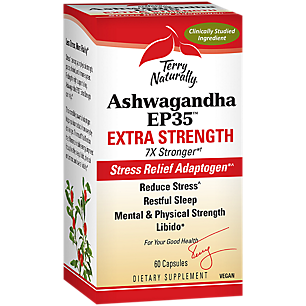 Ashwagandha EP35 Extra Strength Stress Relief Adaptogen & Supports Restful Sleep (60 Capsules)