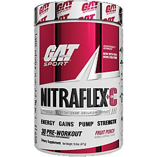 Nitraflex + Creatine Pre Workout Fruit Punch (16.6 oz. / 30 Servings)