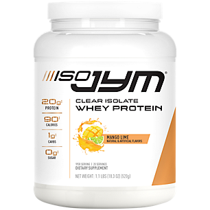 Iso JYM Clear Isolate Whey Protein Mango Lime (1.1 Lbs. / 20 Servings)