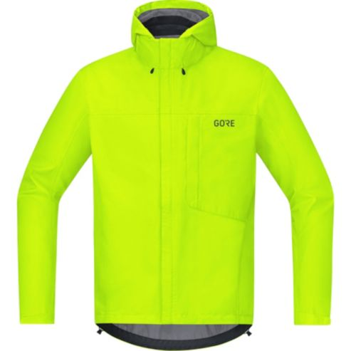 GORE WEAR C3 Gore Tex Paclite Hooded Jacket Herren neon