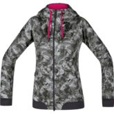 GORE® C5 Women GORE® WINDSTOPPER® Trail Camo Hooded Jacket
