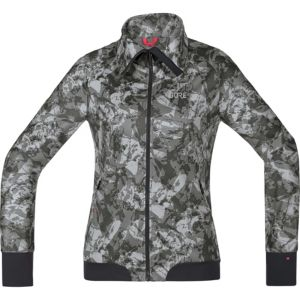 GORE® C5 Women GORE® WINDSTOPPER® Trail Camo Jacket