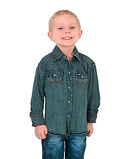fbd3fbb72 Kids' Western Wear & Clothing   Wrangler®