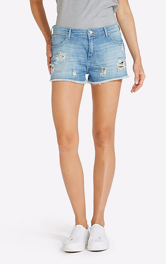 Women's Born Ready Destructed Boyfriend Short