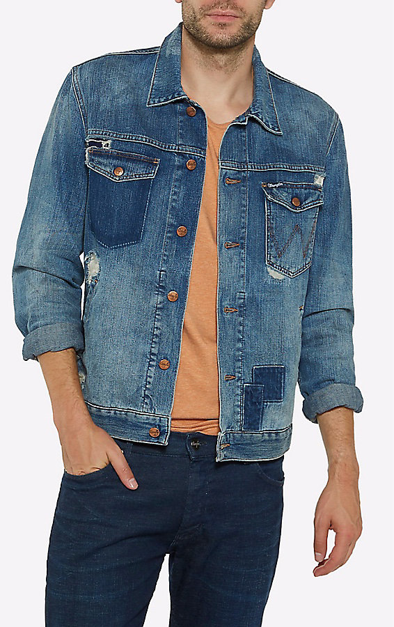 Men's Born Ready Distressed Jacket