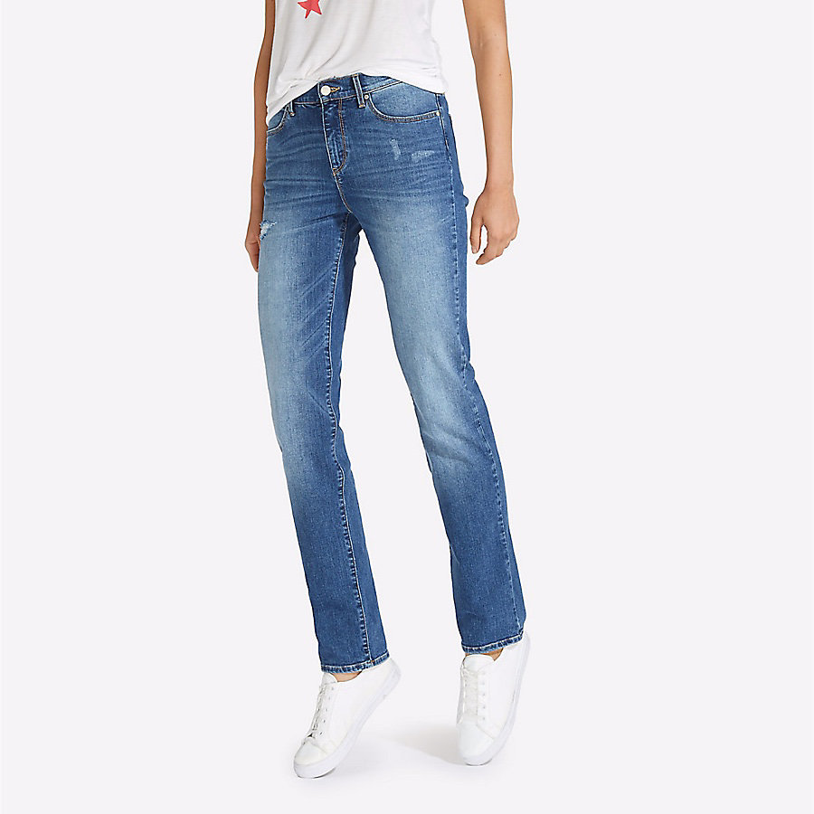 Women's High Rise Slim Jean