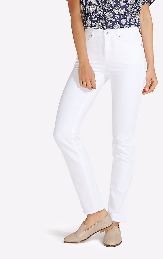 Women's Born Ready White High Rise Slim Jean