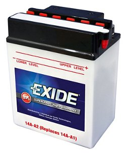 Exide Supercrank High Performance Flooded Powersports Battery