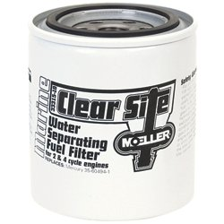 Moeller Marine Clear Site Water Separating Replacement Fuel Filter