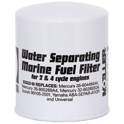Mercury/Universal Water Separating Fuel Filter