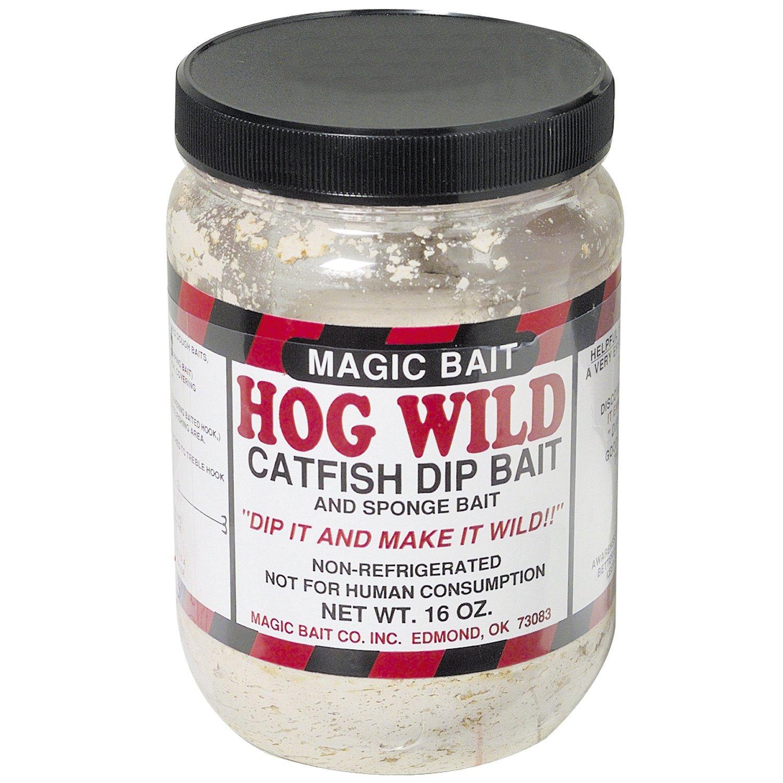 Magic Bait Hog Wild 10 oz. Catfish Dip Bait