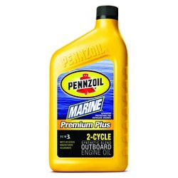 Marine Premium Plus 16 oz. Synthetic Blend 2-Cycle Engine Oil