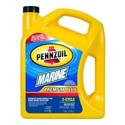 Marine Premium Plus 1-Gallon Synthetic Blend 2-Cycle Engine Oil