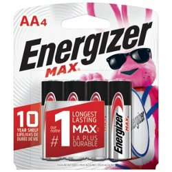 Energizer® Max AA Batteries 4-Pack