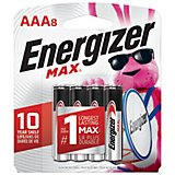 Energizer® Max AAA Batteries 8-Pack