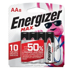 Energizer® Max AA Batteries 8-Pack