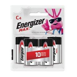 Energizer® Max C Batteries 4-Pack