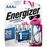 Energizer® Ultimate Lithium AAA Batteries 4-Pack