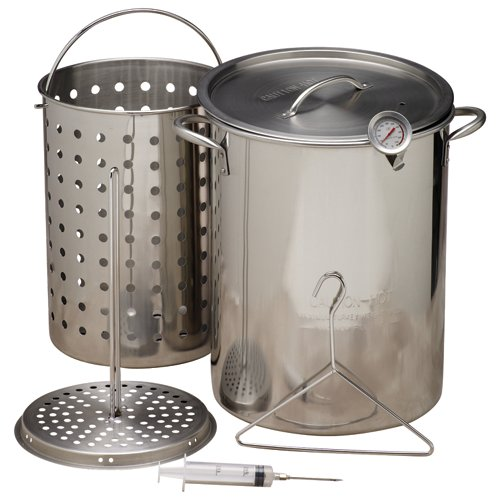 Outdoor Gourmet Stainless-Steel Pot Kit