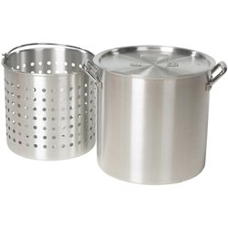Outdoor Gourmet 36 qt. Aluminum Pot with Strainer