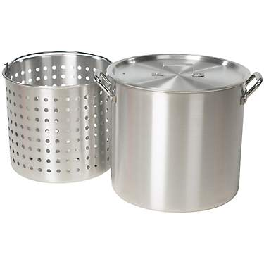 Outdoor Gourmet 42 qt Aluminum Pot with Strainer