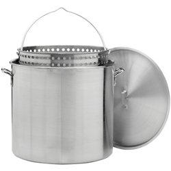 Outdoor Gourmet 100 qt. Aluminum Pot with Strainer