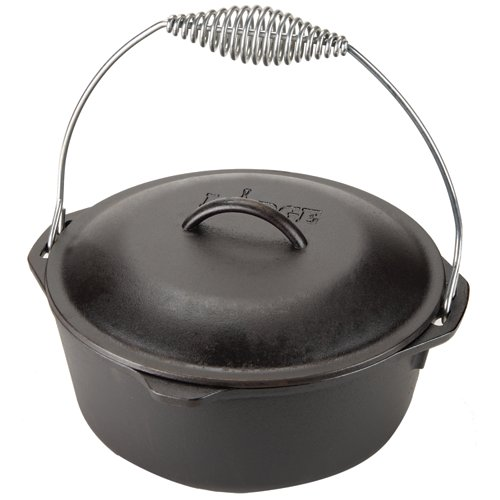 Lodge 5 qt. Traditional Dutch Oven with Wire Bail