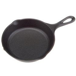 "6.5"" Preseasoned Cast-Iron Skillet"